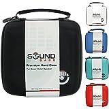 Soundbass® - ブラック Bose (ボーズ) Soundlink のプレミアムハードケースカラーワイヤレスBluetoothスピーカー持ち運び旅行収納ケースバッグ Bose Colour Black Color