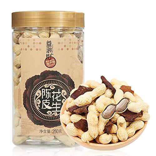 ピーナッツ 落花生 陳皮花生塩味250g 味が濃いおいしいです オレンジの味ピーナッツお茶を飲む間食 ピーナッツ