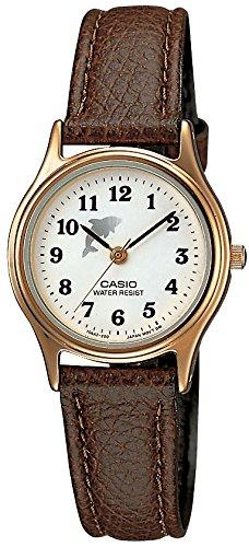 [カシオ]CASIO 腕時計 スタンダード レディス 合皮バンド アナログモデル LQ-398GL-7B4 レディース
