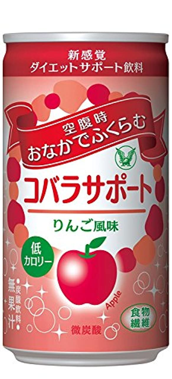 体操関連する付添人大正製薬 コバラサポート りんご風味 1缶