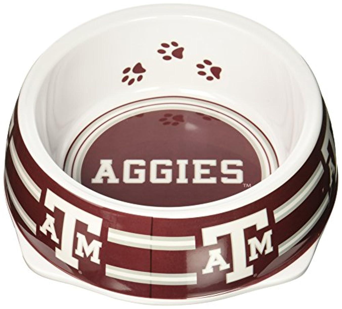 退院呼びかける花婿Sporty K9 Collegiate Texas A&M Aggies Pet Bowl, Large by Sporty K9