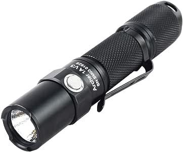 ThruNite® Archer 1A V3 LED フラッシュライト(電池別売り) 【 CREE LED搭載/単3アルカリ乾電池×1本使用】4段階明るさ切替機能+ストロボモード (1A V3 Cool White)