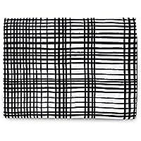 Organic Cotton Muslin Swaddle Blanket (Grid) by Modern Burlap
