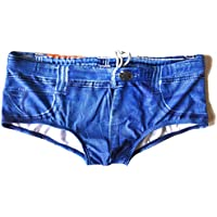 Jeados Swim Men's Briefs - Denim Looking Speedos - The Dong Sarong