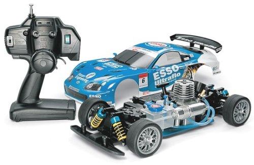1/10 組み立てエンジンRCカーシリーズ XBG エッソ ウルトラフロー スープラ ( TNSシャーシ ) ( 完成品 )