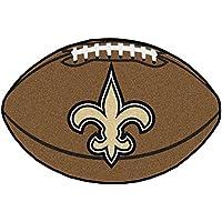 NFL ニューオーリンズ?セインツ フットボール型マット エリアラグ