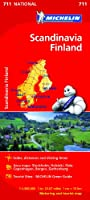 Scandinavia & Finland - Michelin National Map 711 (Michelin National Maps)