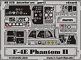 エデュアルド 1/32 マクドネル・エアクラフト F-4E ファントム2 内装エッチングパーツ (タミヤ用) プラモデル用パーツ EDU32503