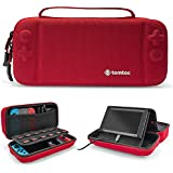 Hard Storage Case Compatible with Nintendo Switch, tomtoc Original Protective Hardshell Travel Handle Case Carrying Bag Cover fit Nintendo Switch Console and Accessories, 18 Game Card Slots