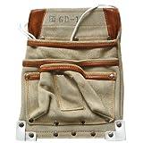 カクイ カドゴム最高級腰袋 デルマ皮仮枠袋 GD-1