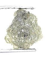 kakadiyaグループ0.76CT天然Rough Unique Loose GrayishカラーSparking Rawダイヤモンド