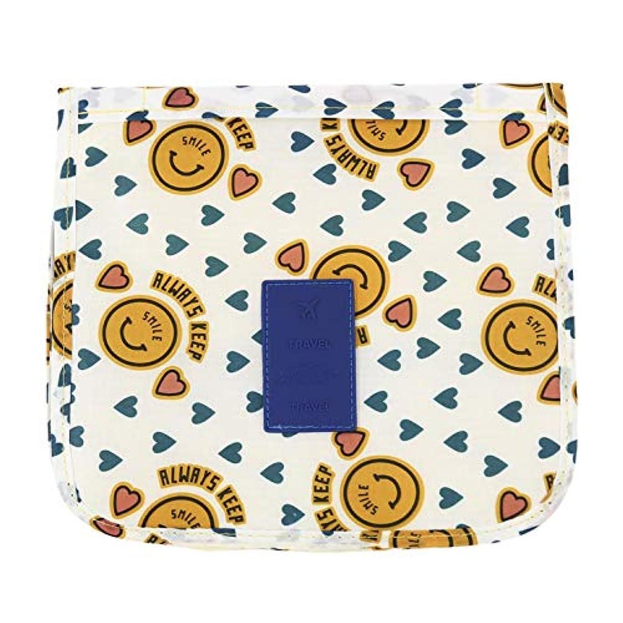 余暇薬局レベルWadachikis 例外的な女性ジッパーハンギング防水旅行トイレタリーの洗浄化粧品オーガナイザーバッグバッグ(None Picture Color)