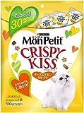 モンプチ クリスピーキッス チーズ&チキンセレクト 90g(3g×30袋) [猫用おやつ]