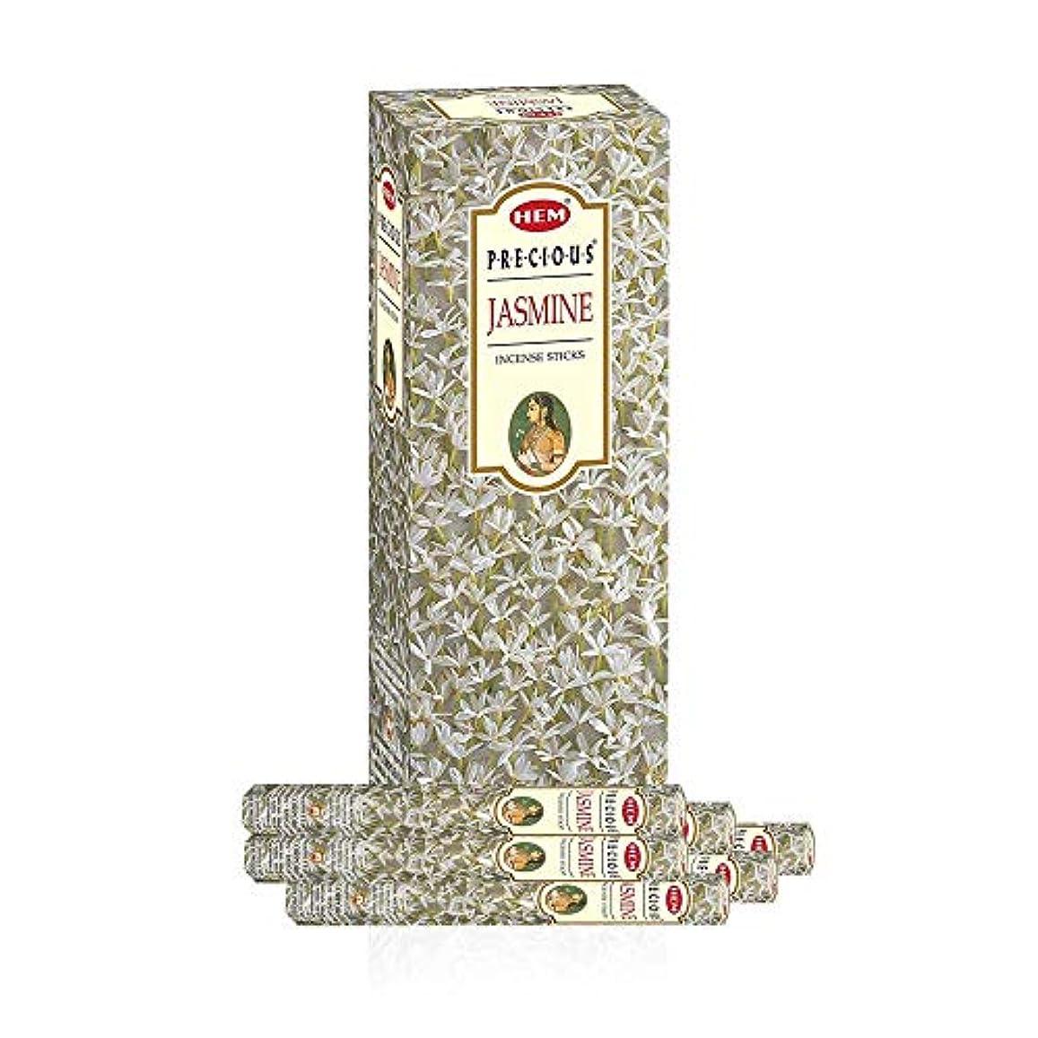 雄弁サイクル真珠のようなHEM プレシャスジャスミン スティック香 6箱入