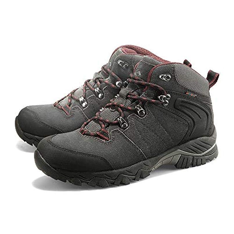 ラオス人蓄積する派生するLIXADA トレッキングシューズ 登山靴 アウトドアシューズ ウォーキングシューズ 防滑 牛革 防水 耐磨耗 アウトドア キャンプ 登山など 男女選択可