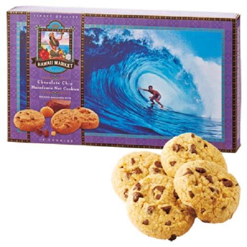 ハワイノースショア マカデミアナッツ チョコクッキー 1箱 【ハワイ海外土産 輸入食品 スイーツ】