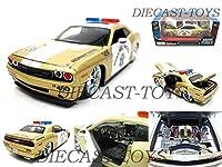 MAISTO-31342 ALL STARS 2008 DODGE CHALLENGER SRT8 1/24 POLICE CAR GOLD [並行輸入品]