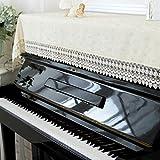 unusual ピアノトップカバー おしゃれ ピアノカバー アップライトピアノ シート 防塵カバー ピアノ掛け 北欧 現代 人気