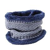 PINKING スカーフ ニット ヌード 無地 吸汗速乾 カジュアル ボア付き 厚手 防寒対策 ネックウォーマー 柔らかい ふんわり 男女兼用