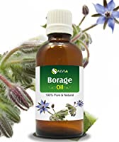BORAGE OIL 100% NATURAL PURE UNDILUTED UNCUT CARRIER OILS 15ML