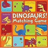 Dinosaurs! Matching Game (Memory Matching Games for Toddlers, Matching Games for Kids, Preschool Memory Games)