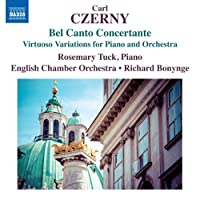 ツェルニー:ベル・カント・コンチェルタンテ ピアノと管弦楽のための技巧的変奏曲集