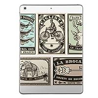 iPad mini mini2 mini3 共通 スキンシール retina ディスプレイ apple アップル アイパッド ミニ A1432 A1454 A1455 A1489 A1490 A1491 A1599 A1600 タブレット tablet シール ステッカー ケース 保護シール 背面 人気 単品 おしゃれ 外国 英語 アンティーク 009608
