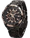 [エーエムピーエム24]AMPM24 ファッション メンズ ステンレススチール バンド クォーツ 腕時計 CUR012 AMPM24専用ギフトボックス付き