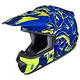 HJC(エイチジェイシー)バイクヘルメット オフロード ブルー(MC2H) XL(61-62) CS-MX2グラフド HJH097