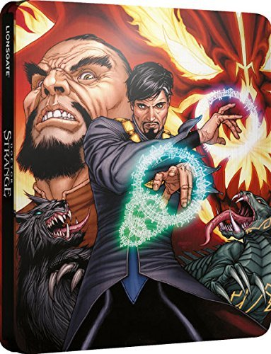 Marvel Doctor Strange Blu ray Steelbook Ultra Limited Edition Limited to 2000 prints Sold out