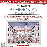 Mozart: Symphonien Nos. 23, 24, 25, 26, 50