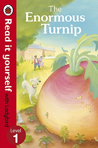 Read It Yourself the Enormous Turnip (Read It Yourself with Ladybird. Level 1. Book Band 4)