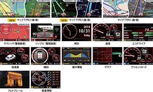 【まとめ買いセット】ユピテル レーダー探知機 (SuperCAT)超高感度GPS搭載(レーダー探知機+OBD12-MIIIケーブルセット) 一体型 GWR103sd-S