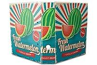 バインダー 2 Ring Binder Lever Arch Folder A4 printed fresh watermelon