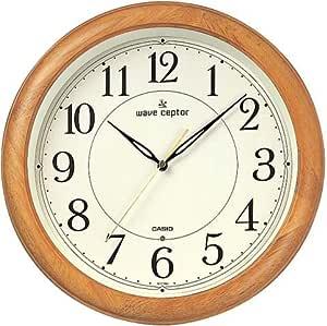 CASIO (カシオ) 掛け時計 WAVE CEPTOR ウェーブセプター 電波時計 アナログ (福島・九州両局対応)IQ-1100J-7JF