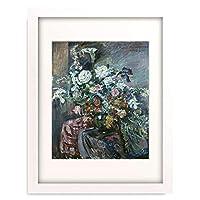 ロヴィス・コリント Lovis Corinth 「Flowers」 額装アート作品