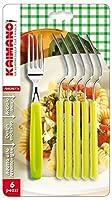 Kaimano KDN760106E Dinamik 6 forks, Acid Green