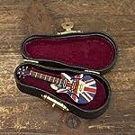 Akitzuki ミニチュアバンド ピンバッジ エレキギター UK