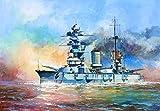 ズベズダ 1/350 ソビエト海軍 ガングート級戦艦 マラート