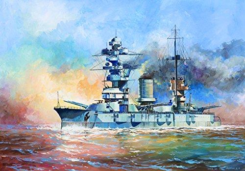 ズベズダ 1/350 ソビエト海軍 ガングート級戦艦 マラート プラモデル ZV9052