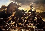 ジェリコー 「メデュース号の筏」 原画同縮尺近似(20号) gericault-01-04