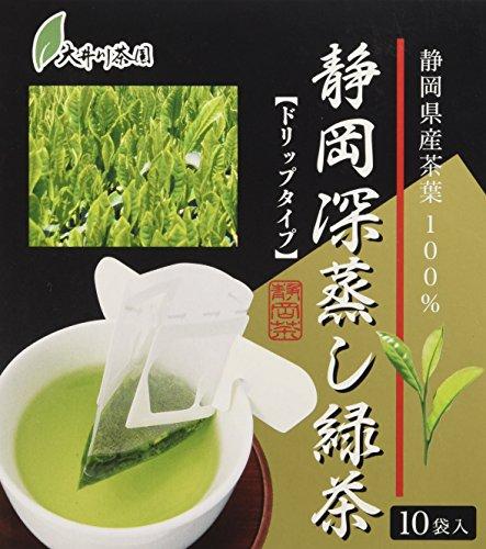 大井川茶園 静岡深蒸し緑茶 ドリップタイプ 10包入