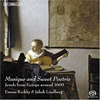 Musique & Sweet Poetrie by Musuque & Sweet Poetrie-Songs & Lute Solos From Eu