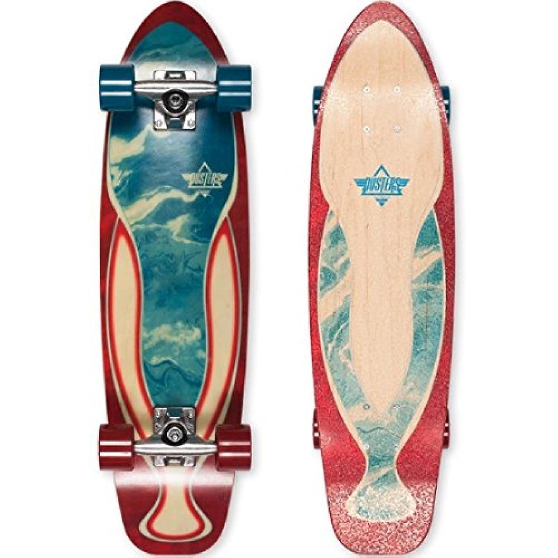 (デュスターズ) Dusters ユニセックス スケートボード ボード?板 Dye Marble Cruiser Complete [並行輸入品]