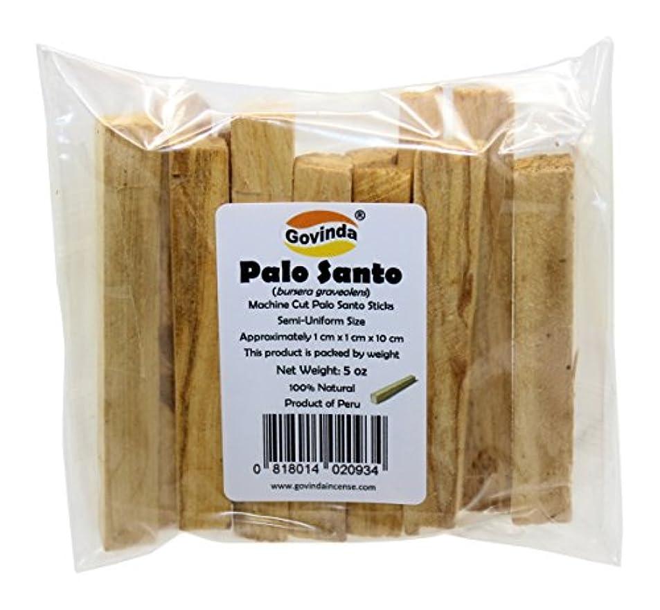 文庫本ストッキング味付けGovindaプレミアムPalo Santo Holy Wood Incense Sticks 5オンスパックfor purifying、クレンジング、ヒーリング、瞑想、Stress Relief。100 %天然