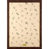 パズルフレーム ディズニー専用 アートフィギュアパネル 1000ピース用 ブラウン(51x73.5cm)