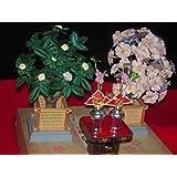ひな人形 桜橘セット雛道具 雛飾り 雛人形