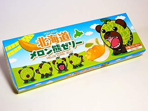 北海道メロン熊ゼリー 80g×3個入