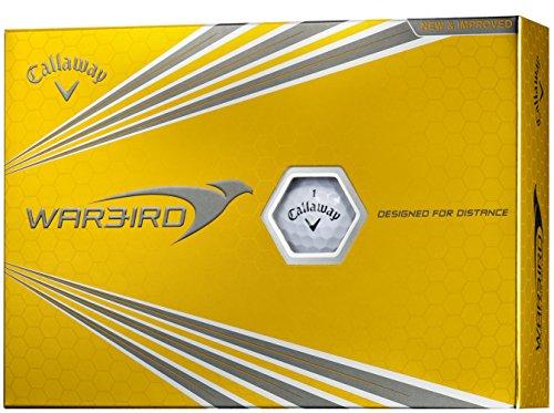 Callaway(キャロウェイ) ゴルフボール WARBIRD 12個入り ホワイト 6421454120044