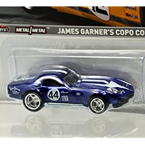 "MATTEL HOTWHEELS 1:64  RACING SERIES ""'James Garner's COPO Corvette"" ""ジェームス ガーナー"" 1967 Chevrolet Corvette L88 24 Hours of Daytona デイトナ24時間レース"